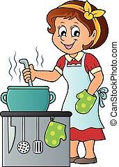 Tema femenina de cocina 2