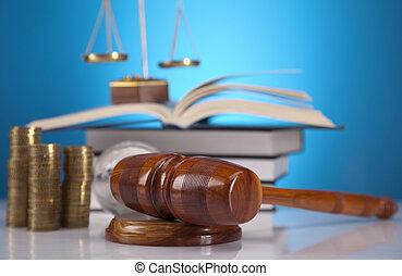 Tema legal, mazo de juez