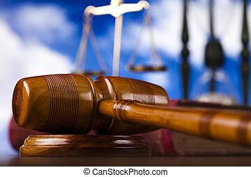 ¡Tema legal, mazo de juez!