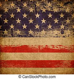 Tema patriótico americano.