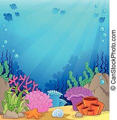 Tema submarino del océano 4