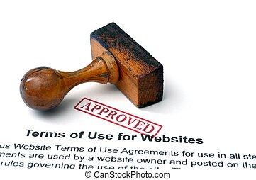 Temas de uso para sitios web
