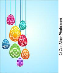 Temperatura de tarjeta de Pascua: 3