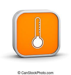 temperatura, señal, bajo