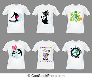 Temperaturas de diseño de camisetas