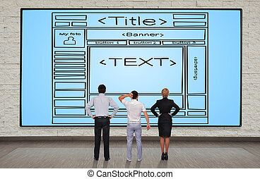 Template webpage