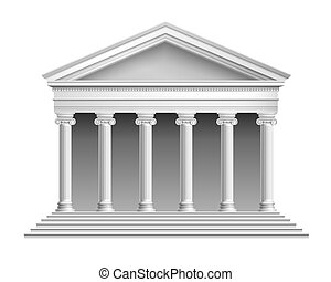 templo, columnata