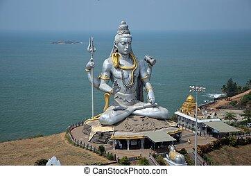 Templo de Lord Shiva, karnataka, India