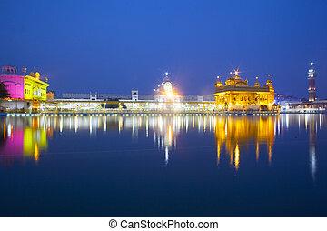 Templo dorado, amritsar - India