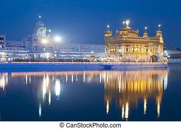Templo dorado de amritsar, India