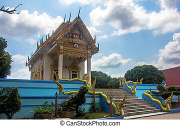 Templo en koh samui