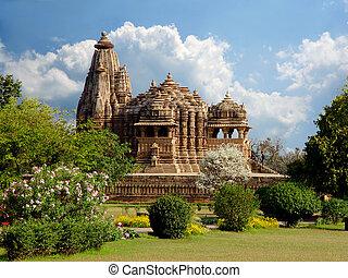 Templo Khajuraho. India