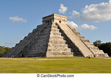 Templo maya chichen itza
