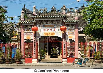 templo, vietnamita