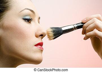 Tener maquillaje