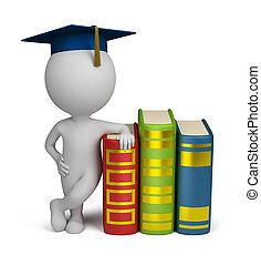 Tercera gente, graduado y libros