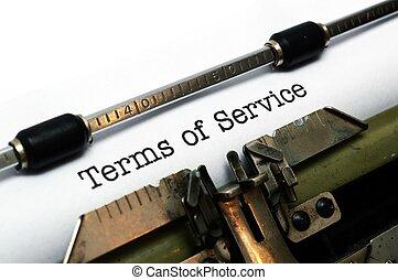 Termas de servicio