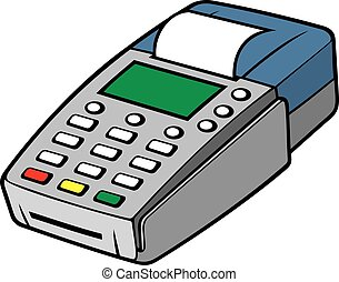 terminal, credito, -, pos, tarjeta