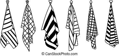 textil, cuarto de baño
