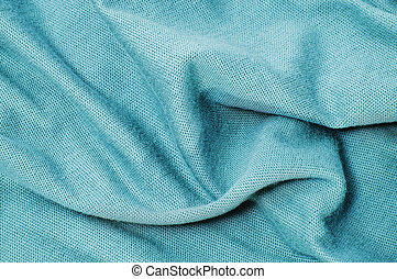 textiles azules