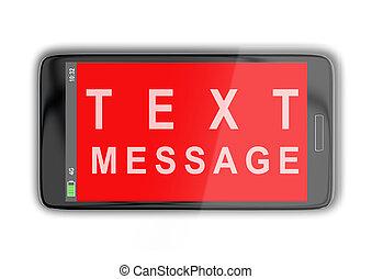 texto, concepto, mensaje