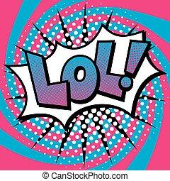 texto, diseño, lol!, arte pop