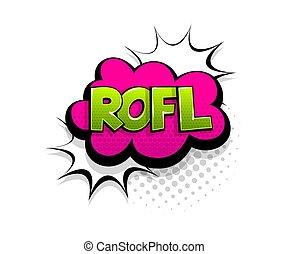 texto, estilo, rofl, arte, burbuja, taponazo, cómico, discurso