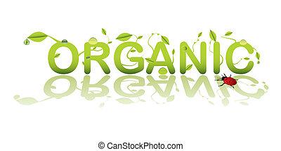 texto, orgánico
