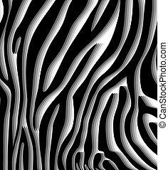 Textura abstracta de la piel del vector de la cebra