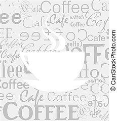 textura de café