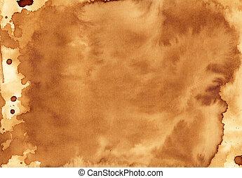 Textura de café hecha a mano