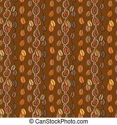 Textura de café sin costura