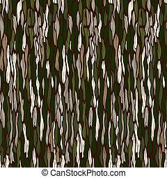 Textura de corteza de árbol. Trasfondo vectorial sin daños.