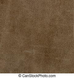 Textura de gamuza marrón