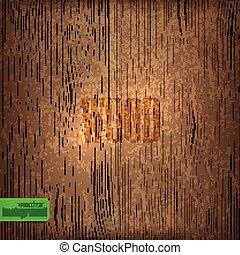 Textura de madera. Antecedentes de vector
