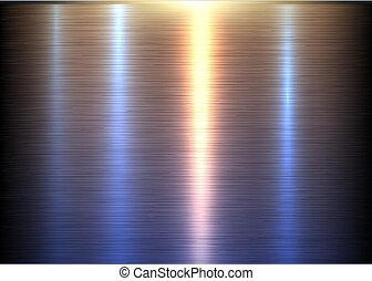 Textura de metal de acero