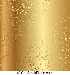 textura de oro con grietas