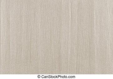 Textura de papel arrugada beige, fondo texturizado natural