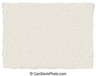 textura de papel, bordes deshilachados