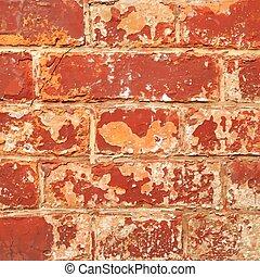 Textura de pared marrón para el fondo