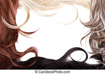textura de pelo