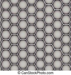 Textura de plata de metal cromado