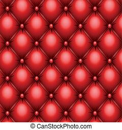 textura de tapicería roja