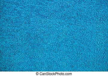 Textura de tela azul. Antecedentes, dormitorio.