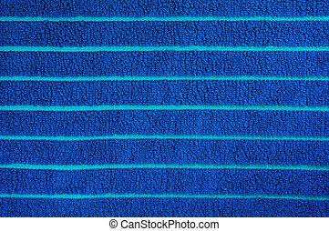 Textura de toalla azul