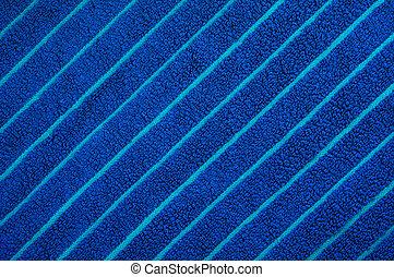 Textura de toalla azul de playa