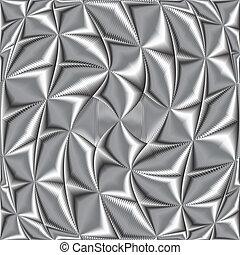 textura metálica retorcida
