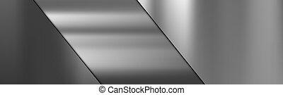 textura, metal, acero, corte, gradiente