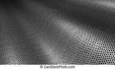 textura, metal, plata, plano de fondo