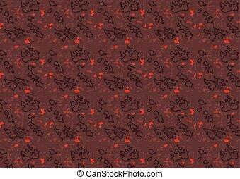 Textura oscura estructurada en rojo